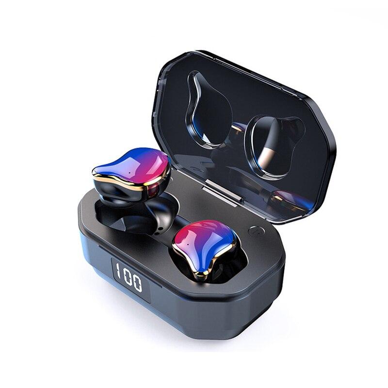 Image 2 - TWS G01 Bluetooth 5.0 Earphones Binaural Touch Control Wireless Earbuds Stereo Heavy Bass Headphones Waterproof Sports Headset-in Bluetooth Earphones & Headphones from Consumer Electronics