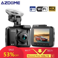 AZDOME GS63H WDR 4 K内蔵のGPS WiFi(China)