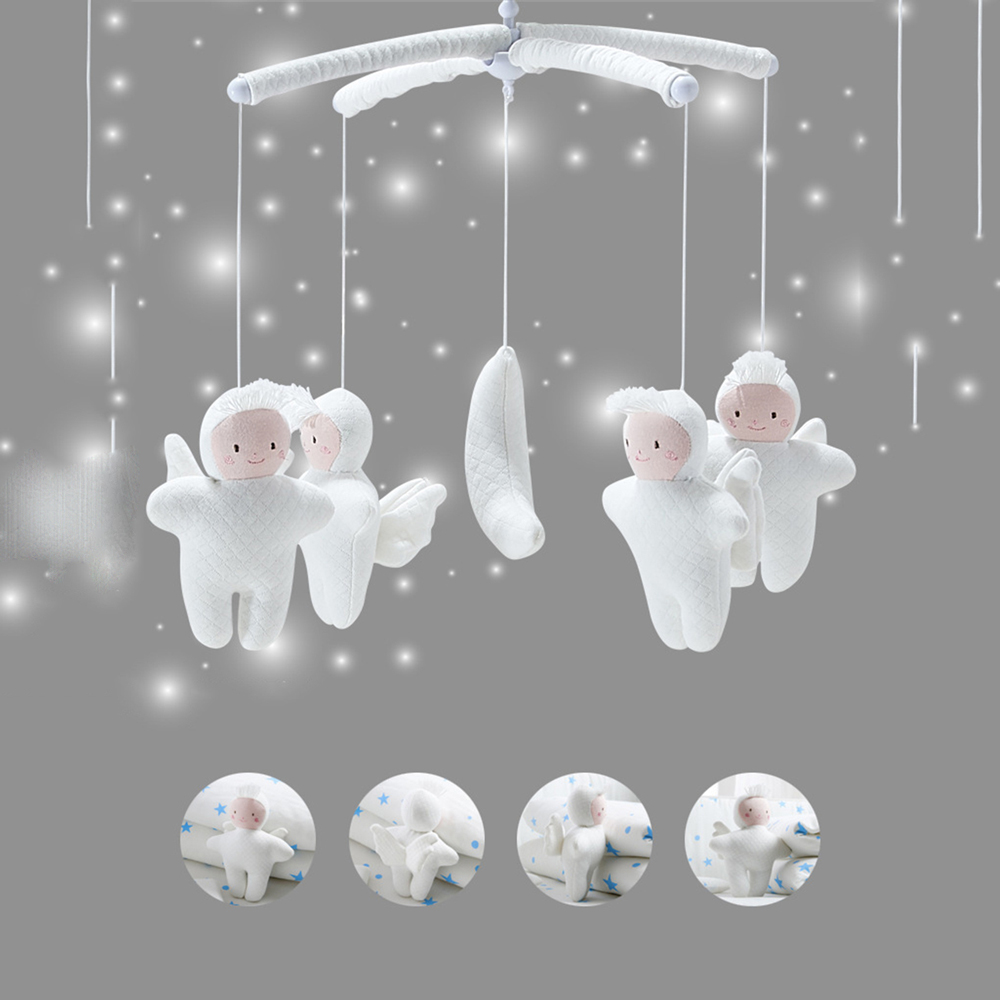 Baby Toys 0-12 Months Baby Rattles Kid Bear Handmade Toy Kids Crib Mobile Bed Bell Toy Toddler Rattle Newborn Toys For Children
