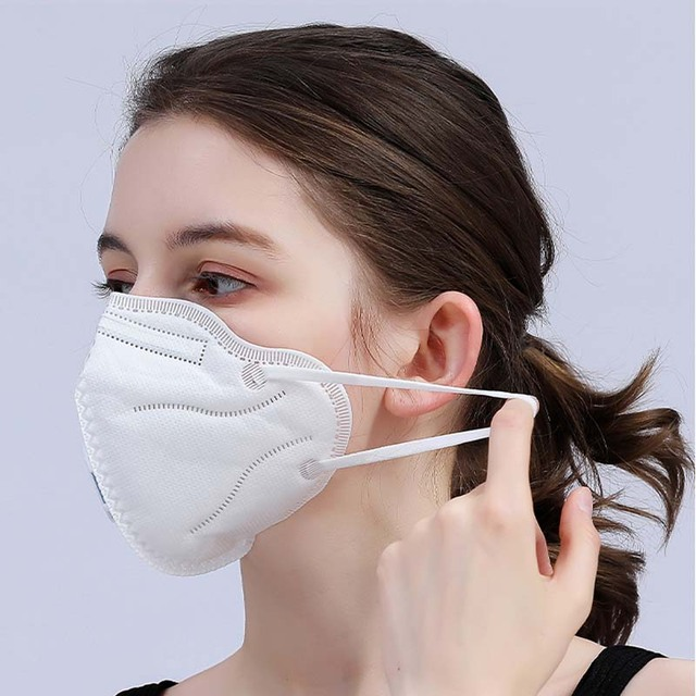 5Pc/lot Reusable Anti Flu 19 Mask KN95 Protection Level As N95 KF94 FFP2 Respirator Dust Face Mask Flu Masks Fast Delivery