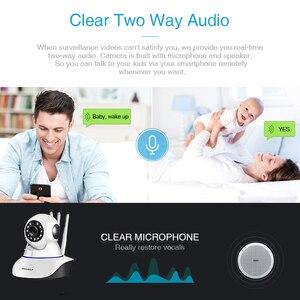 Image 2 - IP камера INQMEGA 1080P 720P 2 м для домашней системы безопасности, беспроводная PTZ мини камера видеонаблюдения, Wi Fi камера, ИК видеоняня, аудиокабель