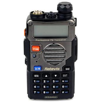 цена на Retevis RT-5RV Walkie-Talkie 5km VHF UHF Dual Band 5W VOX Handheld 2 Way Radio Transceiver cb Radio Comunicador