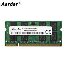 Soporte de memoria ram para portátil, ddr2, 667MHz, 2gb, 800mhz, ddr2