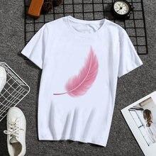 Большая волна эстетическое футболка для женщин tumblr 90s Мода