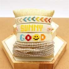Браслеты zhongvi в стиле бохо для женщин японские браслеты с