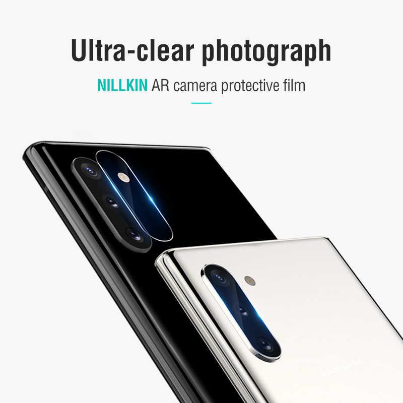 חזור מצלמה עדשת מזג זכוכית עבור Samsung Galaxy הערה 10 Nillkin מצלמה מגן HD AR סרט עבור Samsung הערה 10 בתוספת 10 +