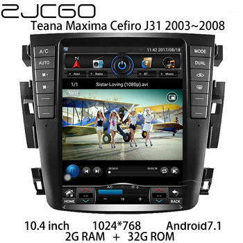 Car Multimedia Player Stereo GPS DVD Radio Navigation NAVI Android Screen for Nissan Teana Maxima Cefiro J31 2003~2008