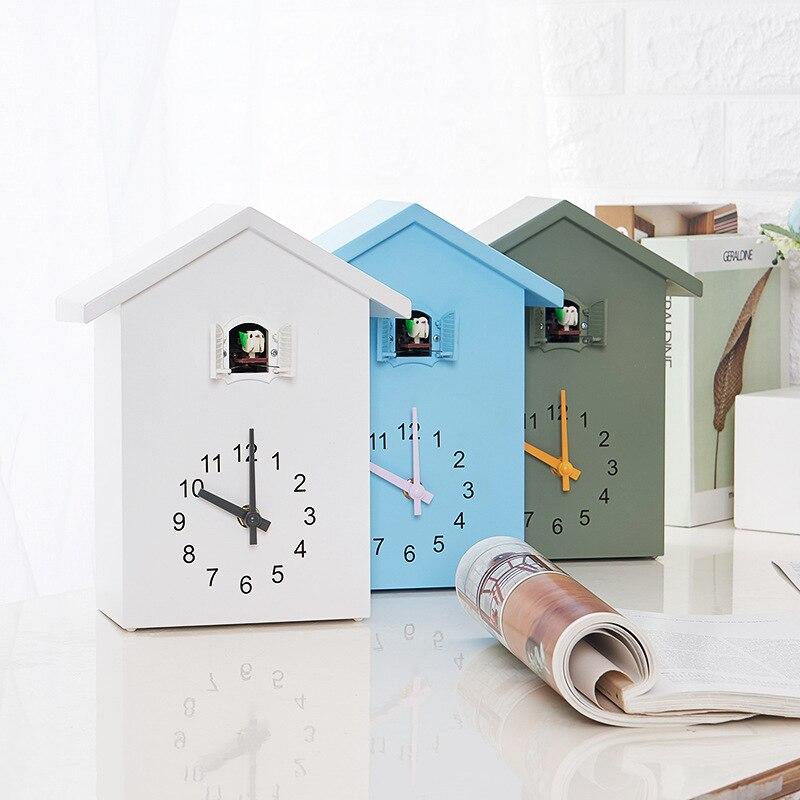 2021 New Cuckoo Clock Wall Clock- Movement Chalet-Style , Minimalist Modern Design