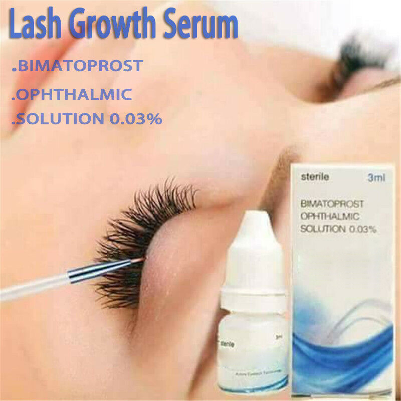 Eyebrow Eyelash Growth Treatment Liquid Essence For Longer Fuller Thicker Lashes @ME88