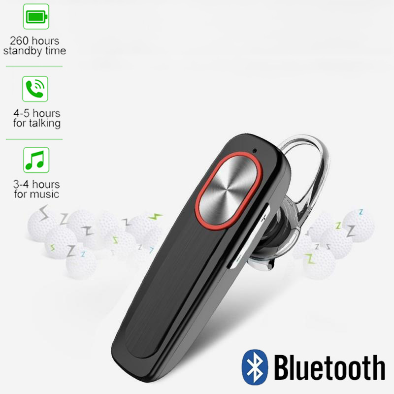 Mini Bluetooth Headset Bluetooth 4.1 Earpiece Hands-free Headphone Mini Wireless Earphone Earbud Earpiece For IPhone Xiaomi