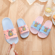 Girls Summer Slippers Cartoon Mouse Home Shoes Kids Non-Slip Flip Flops Casual Children Indoor Shoes Boys Beach Slipper Pantufa