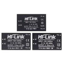 10 pces HLK PM01 HLK PM03 HLK PM12 AC DC 220v mini módulo da fonte de alimentação, módulo inteligente da fonte de alimentação do interruptor doméstico