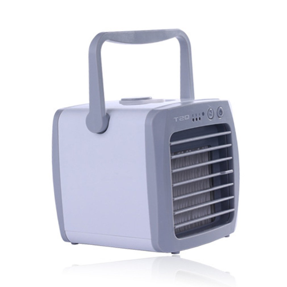 Household Office Use Handy Cooler Portable Size Table Desktop Fan Cooler Air Conditioning Cooler  Fan Gift Summer Use