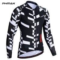PHMAX Atmungs MTB Fahrrad Kleidung 100% Polyester Langarm Radfahren Jersey Quick Dry Racing Rennrad Radfahren Kleidung-in Rad-Trikots aus Sport und Unterhaltung bei