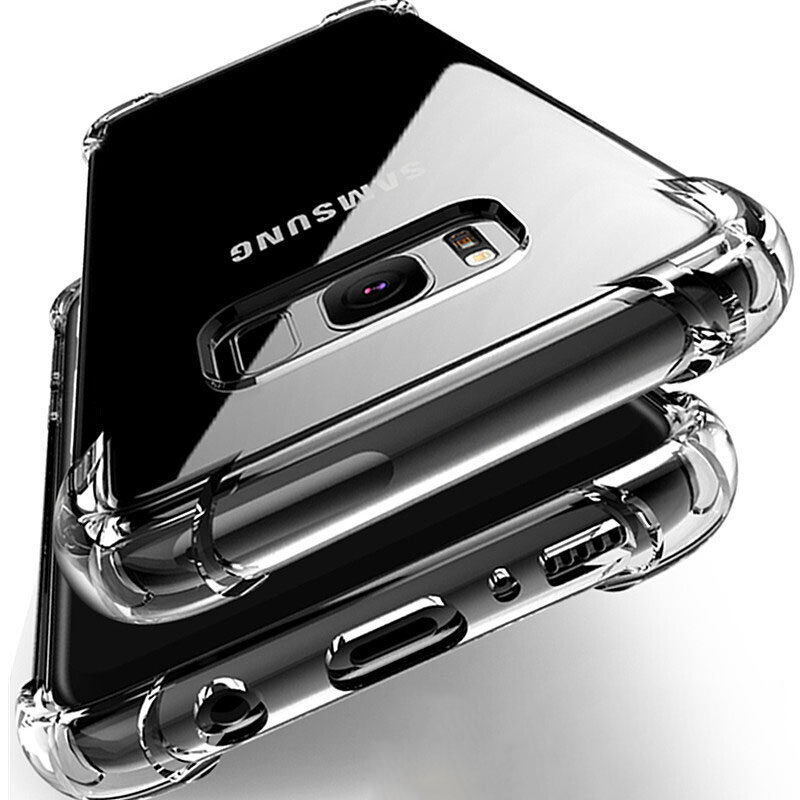 Shockproof Case for Samsung Galaxy S10 Plus lite S10e S20 S8 S9 plus Silicone Phone Cases on for Samsung Note 10 9 8 Back Cover(China)