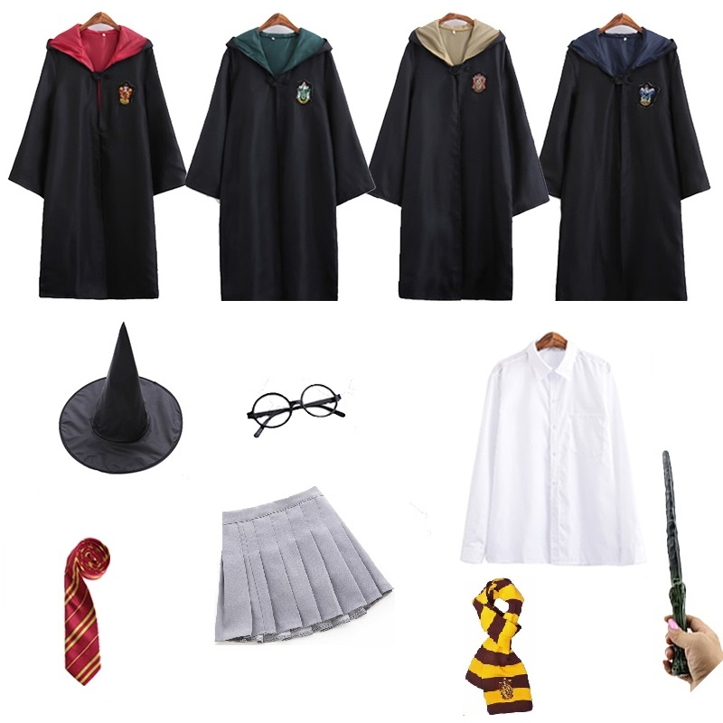 Harry Potter Youth Adult Gryffindor//Slytherin//Hufflepuff//Ravenclaw TIE Costume