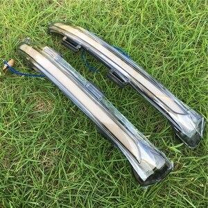 Image 2 - Vw Golf 7 GTI7 MK7 R MK7.5 TouranL Led yan ışık dinamik torna Blinker sİnyal lambası Golf 7 kristal dönme sinyali ışık