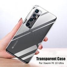 Capa para xiaomi mi 10 ultra caso fino macio transparente alto claro tpu telefone capinhas para xiaomi mi 10 mi10 ultra casos de telefone
