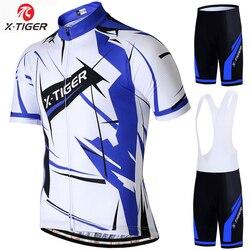 X-Tiger 2019 Pro Bersepeda Jersey Set Musim Panas Bersepeda Pakaian Maillot Ropa Ciclismo Balap Sepeda MTB Sepeda Pakaian set