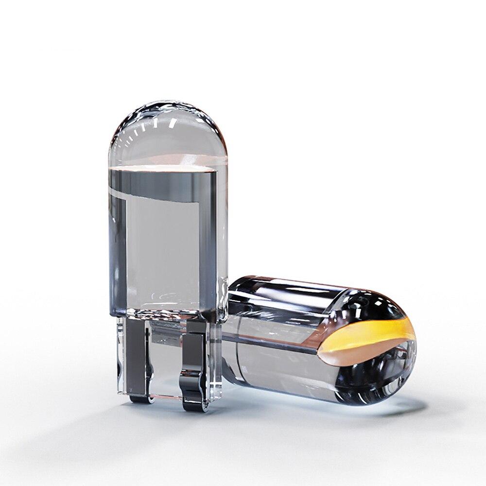 2 шт. T10 W5W WY5W 168 501 2825 COB светодиодный Автомобильный Клин парковка светильник Боковая дверь лампа инструмент авто номерного знака светильник б...