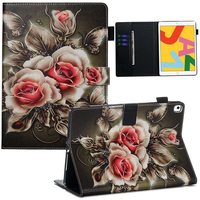 For 7th Funda Case Skin 10.2 Apple iPad iPad Smart for A2200 2019 Cover Generation A2232