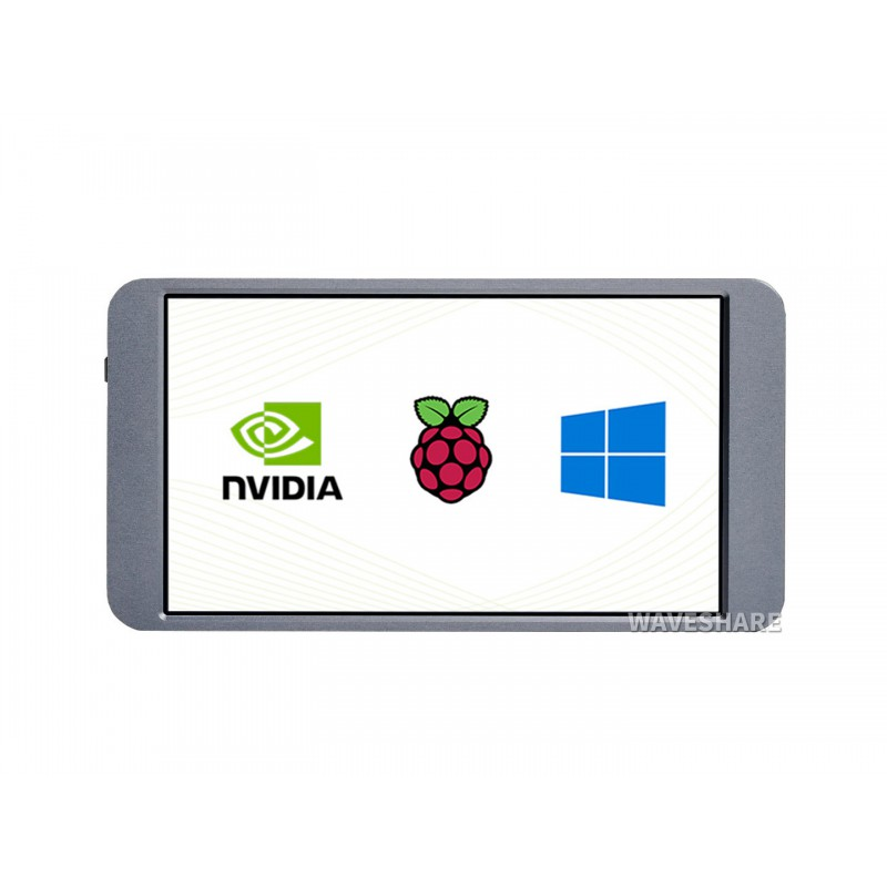 7 polegada display lcd universal portátil monitor de toque 1080 × 1920 completo hd ips mini hdmi suporte raspberry pi 4/3 jetson nano pc