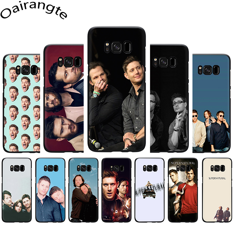 Supernatural Jared Padalecki Soft Phone Cover Case For Samsung Galaxy M10 20 30 S6 7 Edge S8 9 10 Plus Note8 9 image