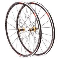 700C 30MM BMX Road Bike Bicycle Wheel bearing carbon fiber tube hub Aluminium Alloy V/C Brake Wheels Wheelset Rim