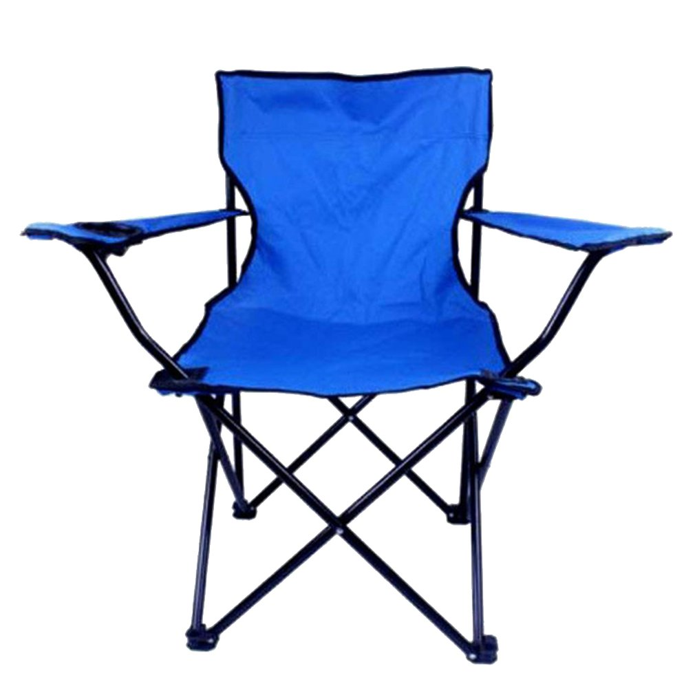 Canvas Plus Steel Engineering Design Leather With Armrests Outdoor Conjoined Chair Folding Chair Beach Chair Fishing Chair