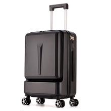 Creative Rolling Luggage Spinner Suitcase Wheels Men Trolley Women Travel bag On Wheel 20 24 inch