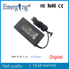 19.5V 7.7A 4.5*3.0mm 150W New Original AC Laptop Adapter 4.5*3.0mm For