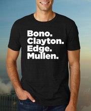 U2 Band Members Lineup Tshirt, Funny tshirt for men, Classic Rock TShirt, Gift Him, Birthday Men-C839