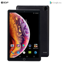New 10.1 Inch Google Play Tablets Android 7.0 Quad Core 3G Phone Call GPS WiFi Bluetooth 2.5D Tempered Glass 1280*800 IPS Tablet