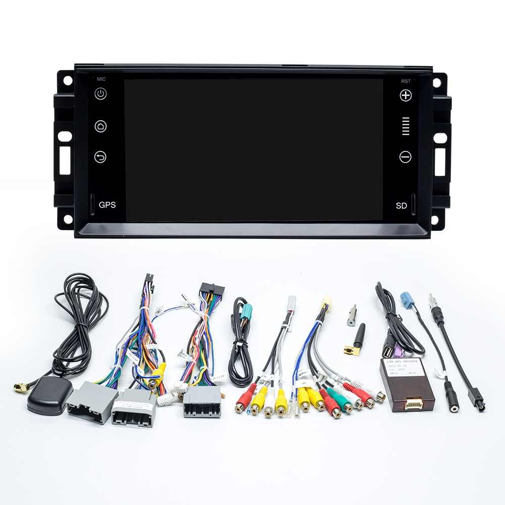 ZLT00PAI Android 10 para Jeep/Wrangler/patriota/Wrangler Cherokee 2008-2011 Auto Radio navegación GPS reproductor Multimedia SWC IPS