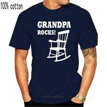 Vovô rocks-ideia do presente do dia dos pais para o avô engraçado camiseta