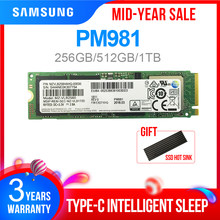 Samsung SSD M.2 PM981 256GB 512GB 1TB Solid State Hard Disk M2 SSD NVMe PCIe 3.0X4 NVME Laptop Internal Disco Duro M.2(China)