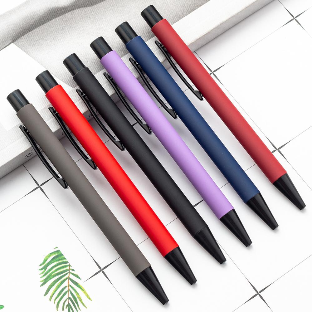 Bolígrafo de Metal bolígrafo multicolor de aluminio, bolígrafo grasiento, bolígrafo promocional de regalo para publicidad FTTH-Kit de herramientas de fibra óptica, 12 unidades por juego, medidor de potencia óptica de 70 ~ + 3dBm, pluma láser de 5km de fibra de FC-6S