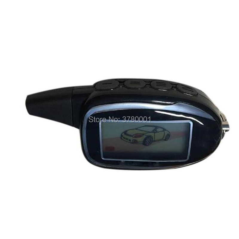 Russia Version M7 LCD Remote Control Key Chain Fob For Keychain Scher-Khan Magicar 7 Scher-Khan Lcd Two Way Car Alarm System