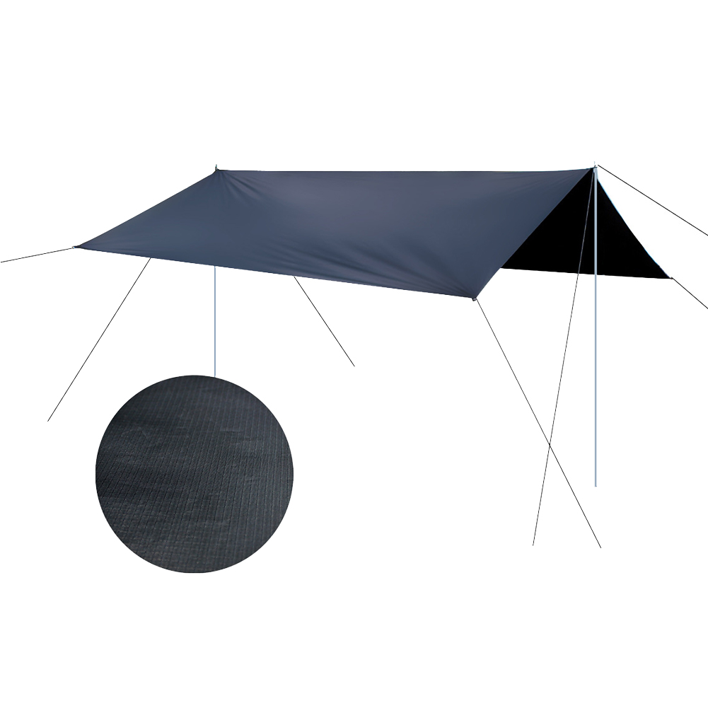300x295cm Portable Multi-purpose Awning Camping Shelter Shade Car Roof Accessory