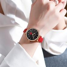 CURREN damski garnitur metalowa i skórzana sukienka kwarcowy zegarek tanie tanio QUARTZ Sprzączka CN (pochodzenie) STOP 3Bar Moda casual 12mm ROUND Odporne na wodę Hardlex CR9078 24inch Papier Skórzane