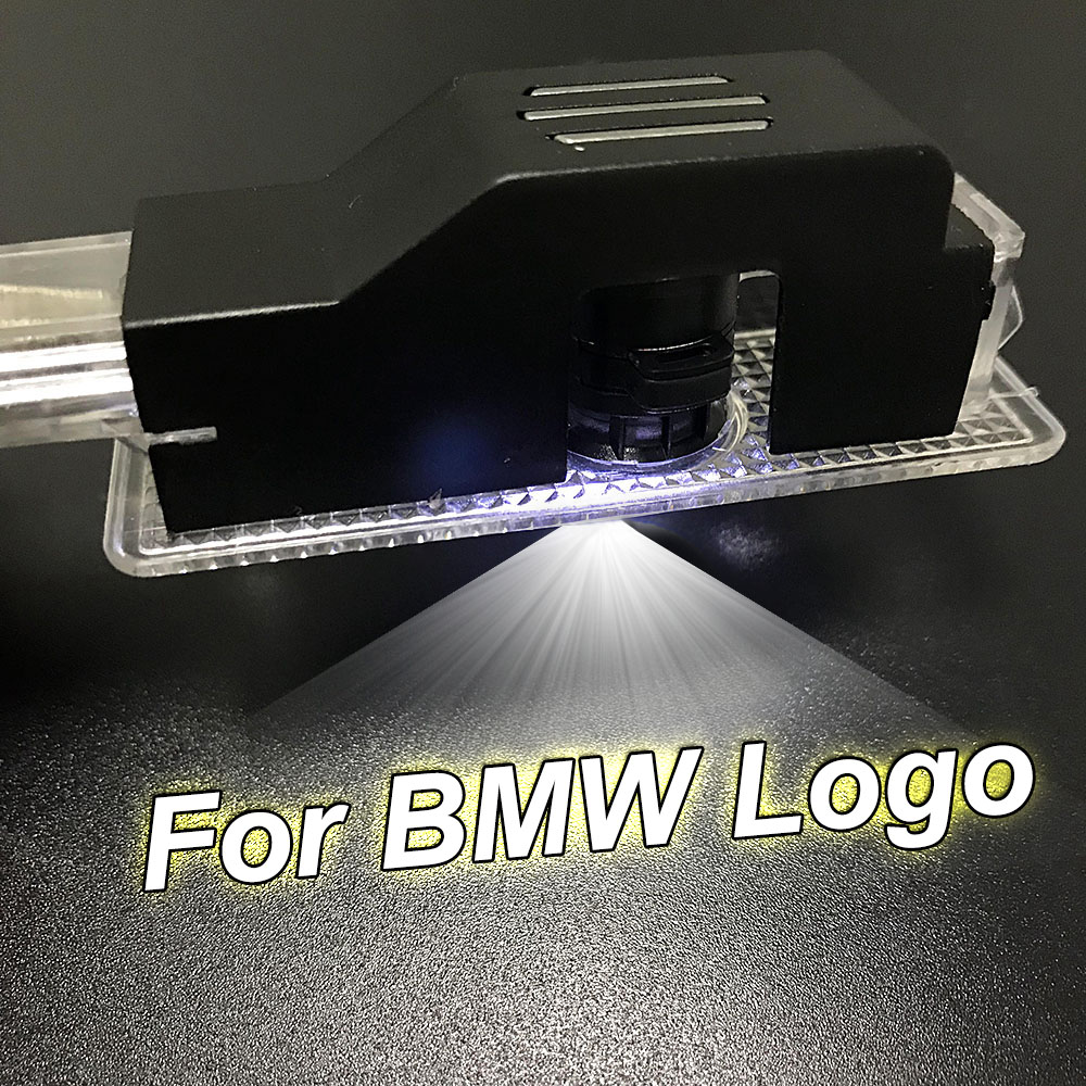 1-10 Pair For BMW Emblem Door Step Projector <font><b>LED</b></font> Light Warning Shadow Light For GT Z4 X3 M3 X4 X6 F03 F04 F11 <font><b>F31</b></font> Welcome Lamp image