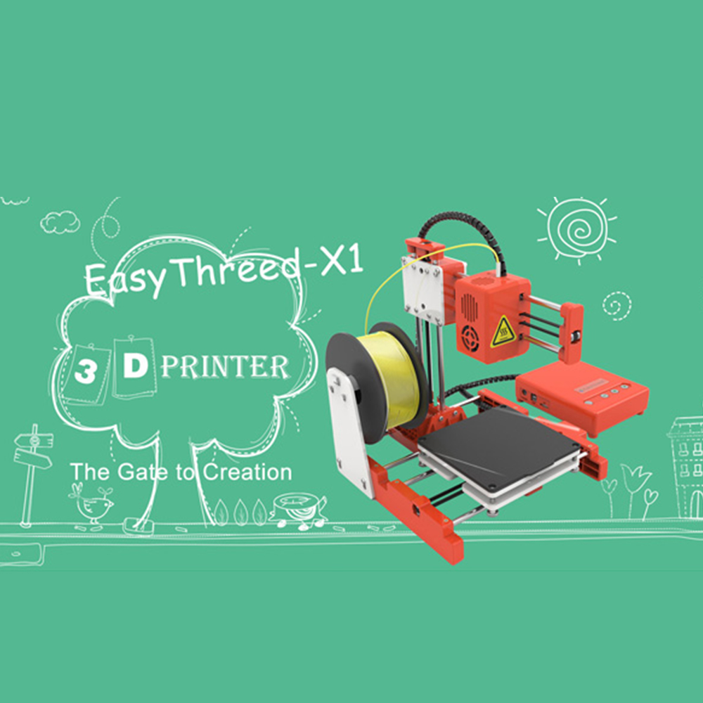 Mini Portable  Kids 3D DIY Printer for Household Education 13