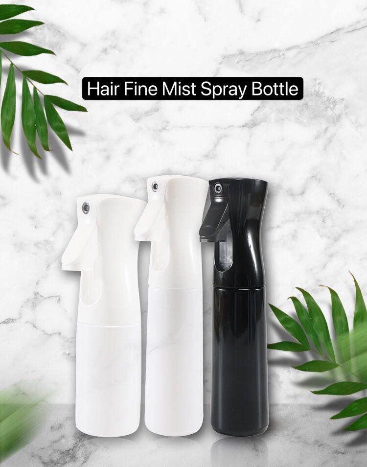 de cabelo pulverizador água cuidados ferramentas