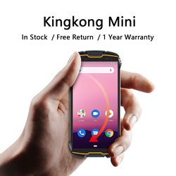 Cubot Kingkong Mini Rugged Cell Phone 4 Inch QHD Screen Waterproof Shockproof Smartphone 3GB 32GB Dual-SIM 4G Small Phone