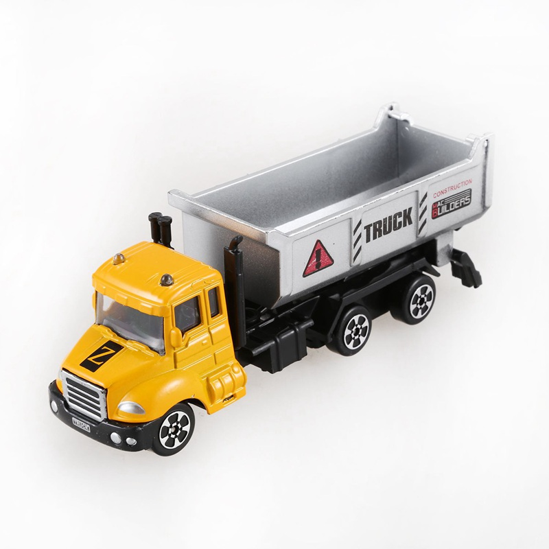 Mini Toys Cars Model Alloy Plastic <font><b>Diecasts</b></font> Engineering Car Model Display Stand Gift For Kids A3 image
