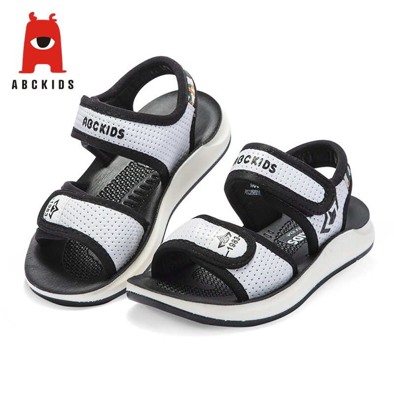 ABC KIDS Baby Boys Sandals Anti-Slip Soft Sole Closed Toe Outdoor Sports Sandals Summer Shoes