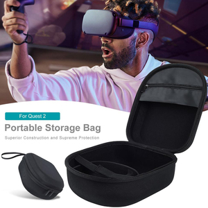 For Oculus Quest 2 Case EVA Portable Hard Protective Cover Storage Bag Carrying Case for Oculus VR Glasses Accessories