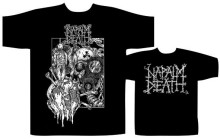 NAPALM DEATH harmonie Corruption T-SHIRT - Nuevo y oficiel col rond manches courtes T petit haut T-SHIRT (2)(China)