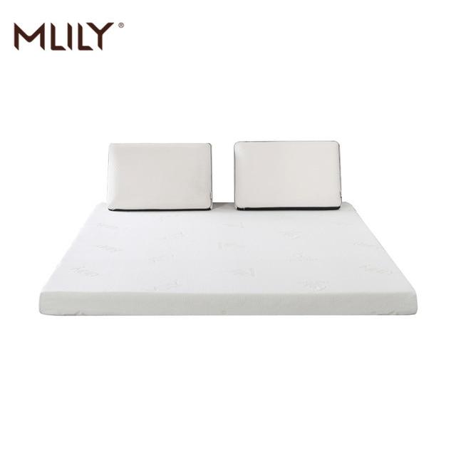 Mlily Memory Foam Mattress Toppper for Bed King Queen Full Twin Size 5cm 2inch Mattress Bedroom Furniture