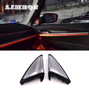 Side door speaker for BMW g30 g38 5 series diamond dome tweeters synchronized with ambient light car speaker LED tweeter light|Multi-tone & Claxon Horns| |  -